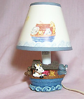 1997 Noah's Ark Mini Lamp