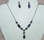 Shades of Blue Necklace Set