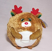 Hoofer the Reindeer Beanie Ballz  Retired