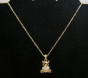 Teddy Bear Pendant Necklace