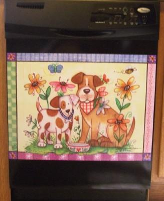 Dogs Dishwasher Magnet