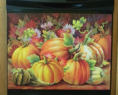 Fall Dishwasher Magnet