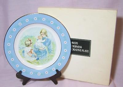 Avon Tenderness Commemorative Plate