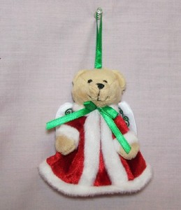 Angel Bear Ornament