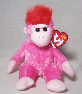 Charmer the Monkey Original Beanie Babie