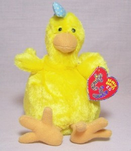 Henley the Chicken Beanie Babie 2.0