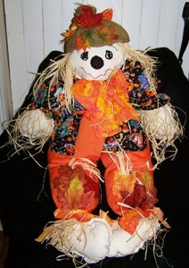 Scarecrow in Orange